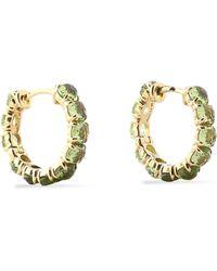 Ippolita - Gold-tone Multi-stone Earrings Light Green - Lyst