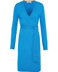 Diane von Furstenberg - Linda Cashmere Wrap Dress - Lyst