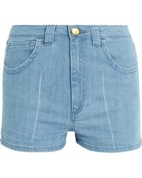 Topshop Unique - Holyport Denim Shorts - Lyst