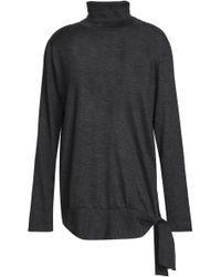 Brunello Cucinelli - Cashmere And Silk-blend Turtleneck Sweater - Lyst