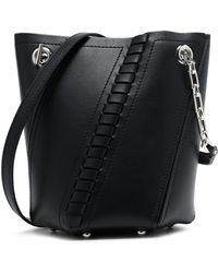 Proenza Schouler - Whipstitch-trimmed Leather Bucket Bag - Lyst