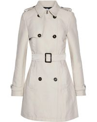 Iris & Ink - James Double-breasted Gabardine Trench Coat - Lyst