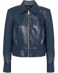 Lanvin - Leather Jacket - Lyst