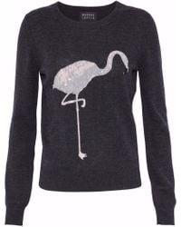 Markus Lupfer - Embellished Intarsia Merino Wool Sweater - Lyst