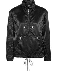 Versus - Embellished Satin-shell Jacket - Lyst