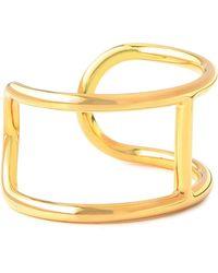 Alexander Wang - Woman Gold-tone Cuff Gold - Lyst