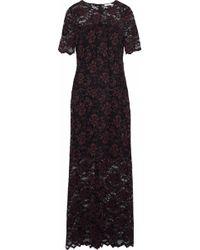 Ganni - Flynn Lace Maxi Dress - Lyst