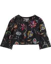 Jason Wu - Floral-print Silk-gazar Bolero - Lyst