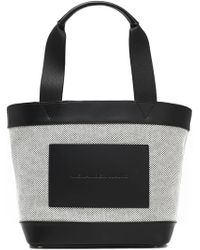 Alexander Wang - Leather-paneled Canvas Tote - Lyst