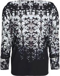 Roberto Cavalli - Printed Jersey Top - Lyst