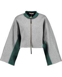 Marni - Two-tone Neoprene Sweatshirt - Lyst