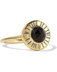 Elizabeth and James - Erro Gold-tone Stone Ring - Lyst