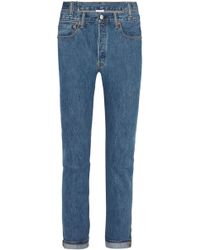 Vetements - Levis High-rise Slim-leg Jeans - Lyst