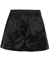 3.1 Phillip Lim - Embellished Cotton-blend Satin-brocade Shorts - Lyst