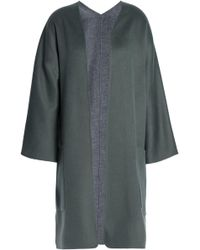 Vince - Reversible Cashmere And Wool-blend Coat - Lyst