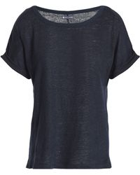 Petit Bateau - Slub Linen-jersey T-shirt - Lyst