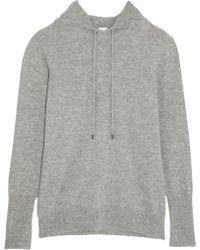 Iris & Ink - Lois Cashmere Hooded Top - Lyst