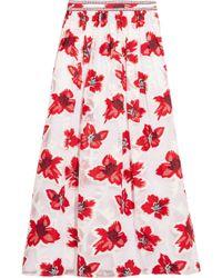 Tory Burch - Barrington Tulle Maxi Skirt - Lyst