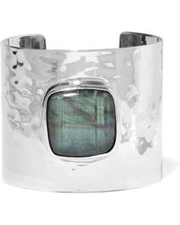 Anndra Neen - Claribel Silver-plated Labradorite Cuff - Lyst