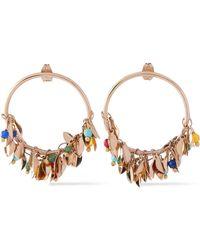 Rosantica - Woman Gold-tone Bead Earrings Gold - Lyst