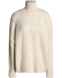Maje - Knitted Turtleneck Sweater - Lyst
