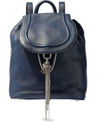 Diane von Furstenberg - Textured-leather Backpack - Lyst
