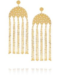 Arme De L'Amour - Gold-plated Earrings - Lyst