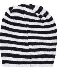 Marc By Marc Jacobs - Striped Merino Wool Beanie - Lyst
