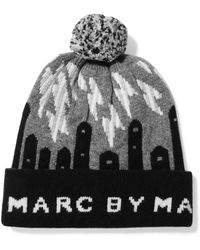 Marc By Marc Jacobs - Idle Wild Intarsia Wool Beanie - Lyst