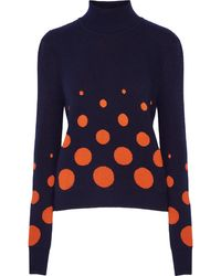 Merchant Archive - Jacquard-knit Wool-blend Sweater - Lyst