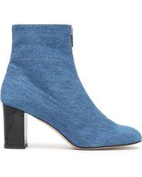 Camilla Elphick - Denim Ankle Boots Mid Denim - Lyst