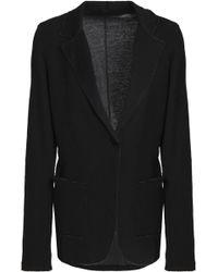 Majestic Filatures - Frayed Cotton And Cashmere-blend Blazer - Lyst