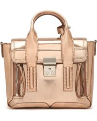 3.1 Phillip Lim - Pashli Mirrored-leather Shoulder Bag - Lyst