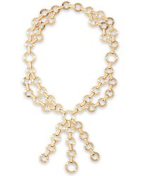 Valentino - Gold-tone Necklace - Lyst