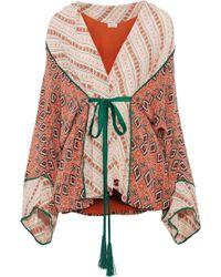 Talitha - Printed Silk Kimono - Lyst