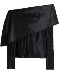 Isa Arfen - Off-the-shoulder Silk-taffeta Top - Lyst