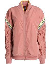 adidas By Stella McCartney - Woman Shell Jacket Antique Rose - Lyst