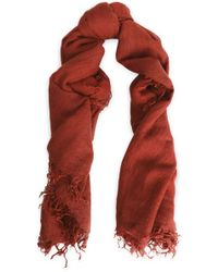 Chan Luu - Frayed Cashmere And Silk-blend Scarf - Lyst