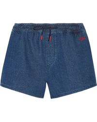 Être Cécile - Running Cotton-chambray Shorts - Lyst