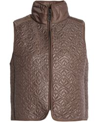 See By Chloé | Panelled Quilted Shell Vest | Lyst