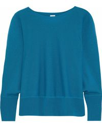 Iris & Ink - Leanne Wool And Cashmere-blend Jumper - Lyst