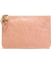 See By Chloé - Embossed Leather Pouch - Lyst