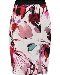 Noir Sachin & Babi - Anguilla Printed Jacquard Skirt - Lyst