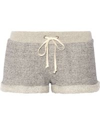 Enza Costa - French Cotton-terry Shorts - Lyst