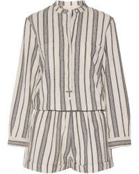 Vanessa Bruno - Geza Cotton-jacquard Playsuit - Lyst