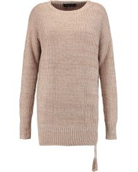 Rachel Zoe - Sonia Ribbed-knit Silk And Cotton-blend Jumper - Lyst
