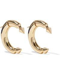 Noir Jewelry - Gold-tone Earrings - Lyst