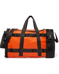 adidas Originals - Convertible Two-tone Mesh And Shell Bag - Lyst