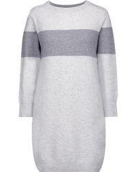 Duffy - Striped Cashmere Sweater Dress - Lyst