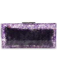 Missoni - Printed Pvc Clutch - Lyst